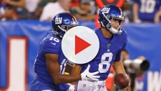 Giants bench Eli Manning, kissing their season goodbye