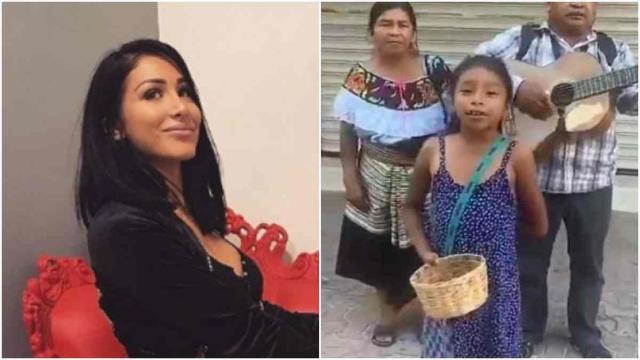 Léana choque la Toile en se moquant d'une petite artiste de rue mexicaine