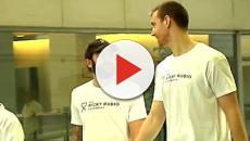 En un hospital barcelonés, Ricky Rubio inaugura una sala para pacientes con cáncer