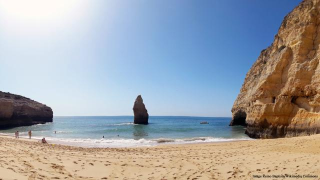 Carvoeiro is a scenic wonder on the Algarve coast in Portugal