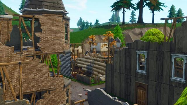 The old houses are coming back to 'Fortnite Battle Royale'