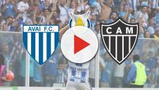 Avaí x Atlético-MG: transmissão ao vivo nesta segunda-feira (23), às 20h