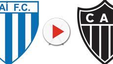 Avaí pega Atlético Mineiro: Transmissão ao vivo, desfalques e arbitragem