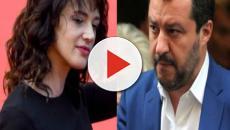 'Live-Non è la d'Urso', Salvini sbotta con Asia Argento: 'E' normale chiamarmi m...?'