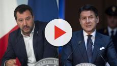 Salvini sospetta che il premier nasconda qualcosa del suo passato tradendo gli italiani