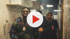 Gucci Mane cammina a Milano tra l'indifferenza della gente