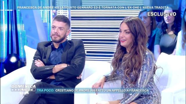 Francesca De Andrè a Domenica Live contro Lillio: 'Con me non c'entra niente'