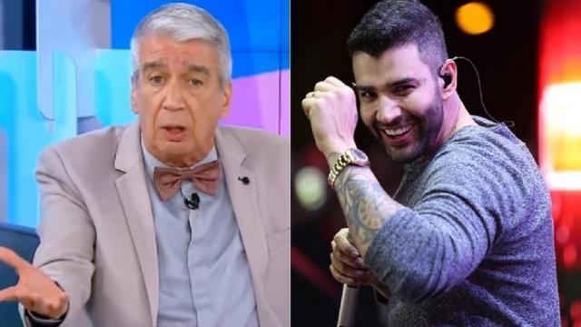 Gusttavo Lima rebate críticas de participante do Fofocalizando após interrupção de um show