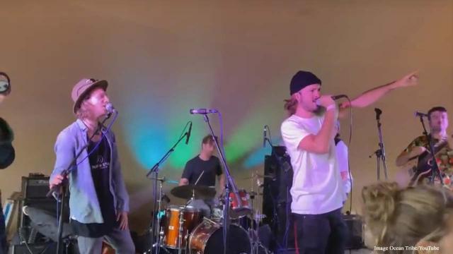 Ocean Tribe, Holland's new surfreggae sensation play at Surfana 2019