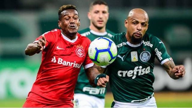 Internacional x Palmeiras: onde assistir, escalações e arbitragem