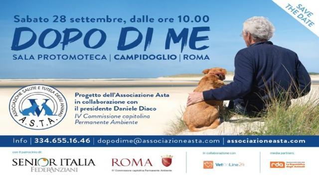 Roma, presentato progetto 'Dopo di me' per tutelare il rapporto anziani-animali