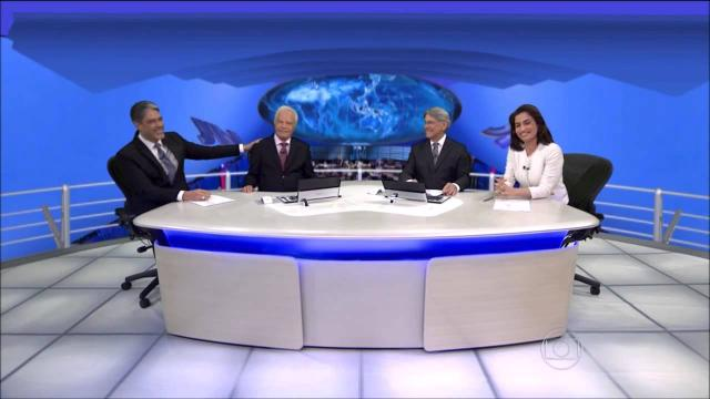 Sergio Chapelin recusa homenagem na Globo