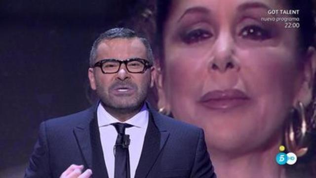 Jorge Javier Vázquez sobre Isabel Pantoja: 'no está psicológicamente bien'