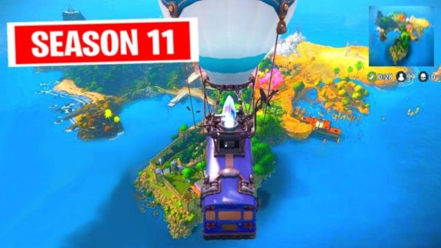 'Fortnite Battle Royale' is getting a new map in season 11