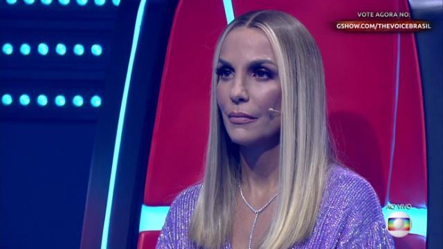 Ivete Sangalo aparece loira no 'The Voice Brasil'