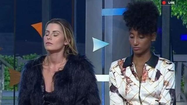 'A Fazenda': enquete UOL revela 'empate' horas antes da roça entre Aricia e Sabrina