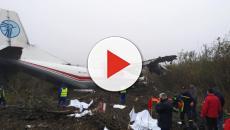 5 muertos en un accidente aéreo en Ucrania de un avión procedente de Vigo
