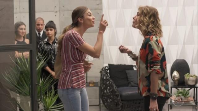 Bom Sucesso: internautas se exaltam após Paloma discutir com Eugênia