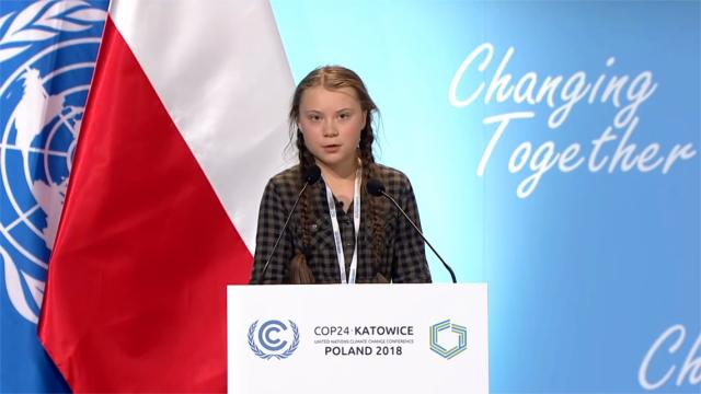 Greta Thunberg podría ganar el premio Nobel de la Paz