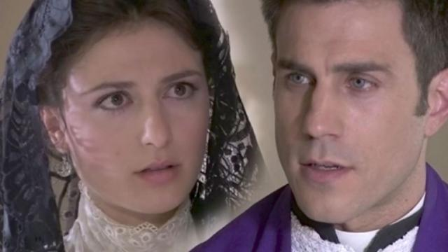 Una Vita anticipazioni, padre Telmo toglie gli abiti sacerdotali per Lucia