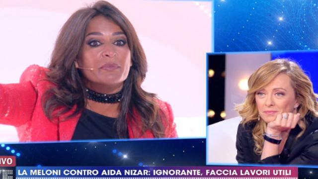 Scontro Meloni-Nizar da Barbara D'Urso, lo sfogo della leader di Fratelli d'Italia