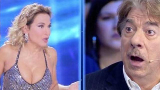 Domenica Live, Marco Columbro furioso con la D'Urso: 'ti strappo il vestito'