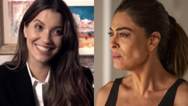 Em 'A Dona do Pedaço', Fabiana tenta corromper Vivi, que reage: 'agora me ofendeu'