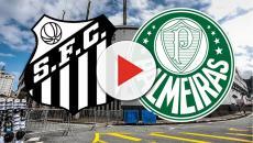 Santos x Palmeiras: onde assistir, escalações e equipe de arbitragem