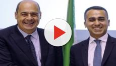 Di Maio e Zingaretti a cena insieme per discutere di un'alleanza in Calabria