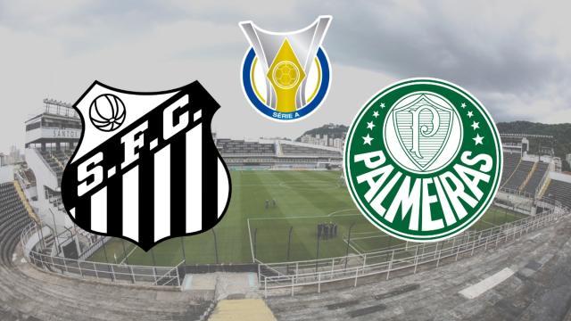 Santos x Palmeiras: transmissão ao vivo na Globo, nesta quarta (9), às 21h30