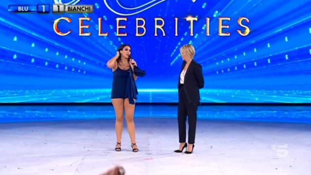 Spoiler Amici Celebrities, quarta puntata: eliminata Francesca Manzini, Riki ospite