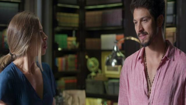 'Bom Sucesso': Nana pega Paloma e Marcos dando uns amassos