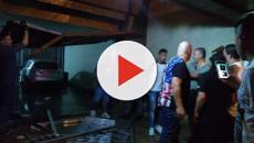 Tentando escapar de assalto, volante Ralf, do Corinthians, sofre acidente de carro