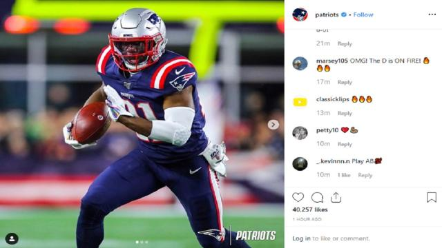 Patriots are having problems adding a wide receiver.