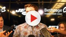 New York Jets quarterback Sam Darnold talks about the upcoming Patriots game