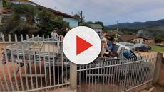 Seis pessoas morrem após caminhonete com fieis cair de uma ribanceira de metros