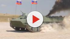 Russian military drills to include a lot of military personnel and war machines