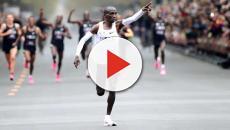 Queniano entra para a história após completar maratona em menos de duas horas