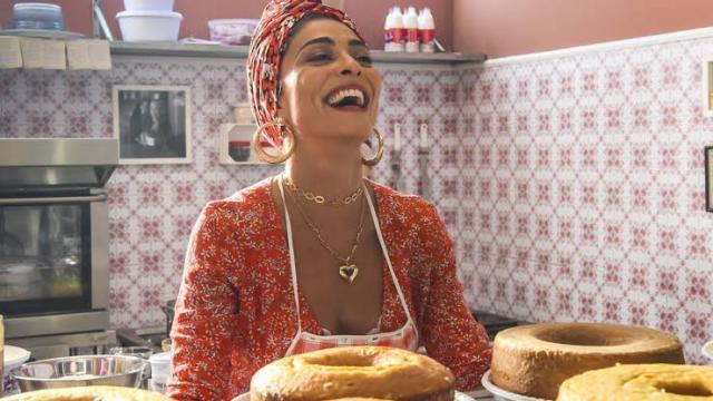 Maria da Paz é desclassificada de concurso de culinária em A Dona do Pedaço
