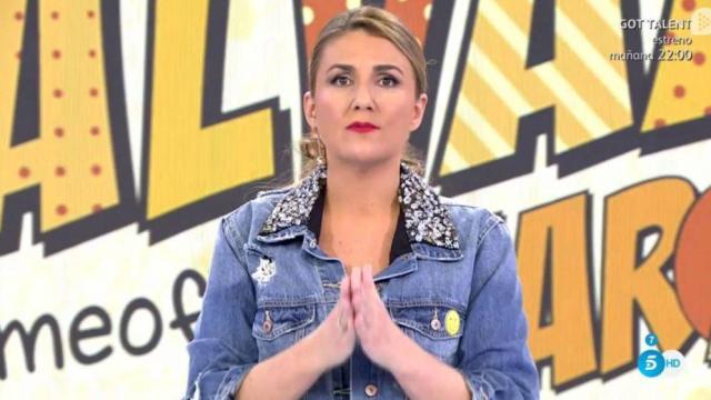 Carlota Corredera está harta de los comentarios machistas de sus comapñeros en Sálvame