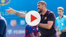 El Fútbol Club Barcelona ha despedido a Víctor Valdés como entrenador del Juvenil A