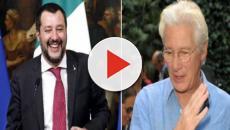 Migranti, Salvini risponde a Richard Gere: 'Firenze mi fa pensare alla Fallaci, non a lui'