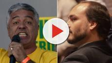 Major Olímpio chama Carlos Bolsonaro de Moleque