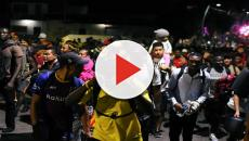 The Americas Caravan of 2,000 migrants detained in southern Mexico