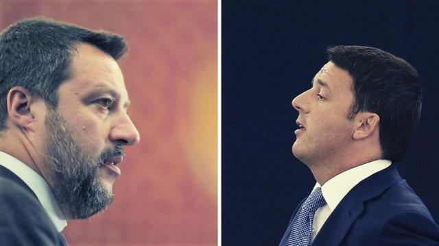 Porta a Porta: questa sera, 15 ottobre, il confronto tra Salvini e Renzi alle 22:50
