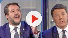 Porta a Porta: dopo lo scontro Renzi chiede a Salvini di rispondere sui 49 milioni