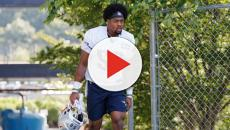 Tom Brady gives words of encouragement to rookie N'Keal Harry