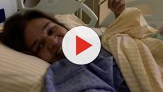 Claudia Rodrigues é levada aos hospital e internada às pressas em São Paulo