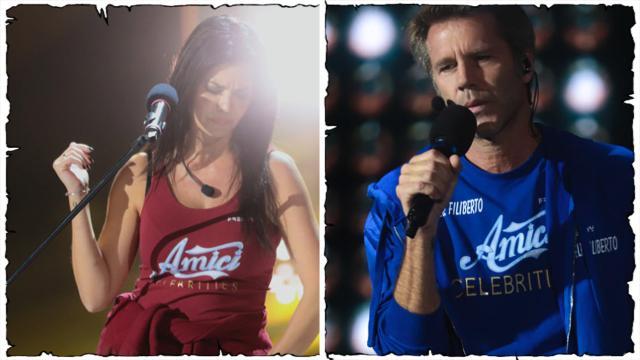 Amici Celebrities, penultima puntata: fuori Emanuele Filiberto e Laura Torrisi