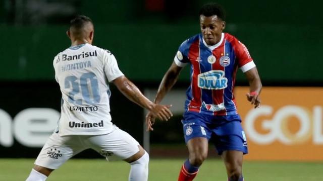 Grêmio x Bahia: onde assistir ao vivo, escalações e arbitragem